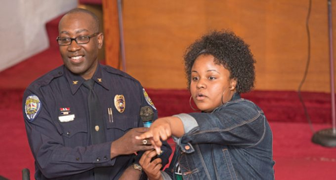 City officials, coalition promote  night event with police chief