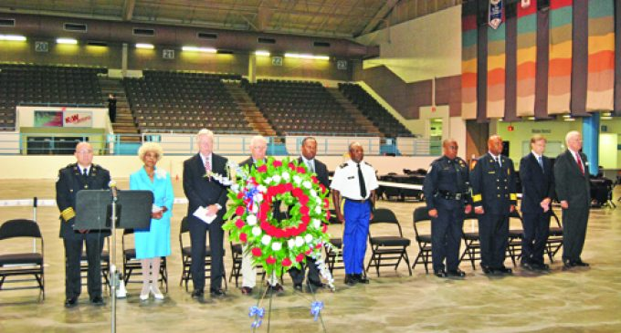 9/11 commemorated locally with  JROTC public safety challenge