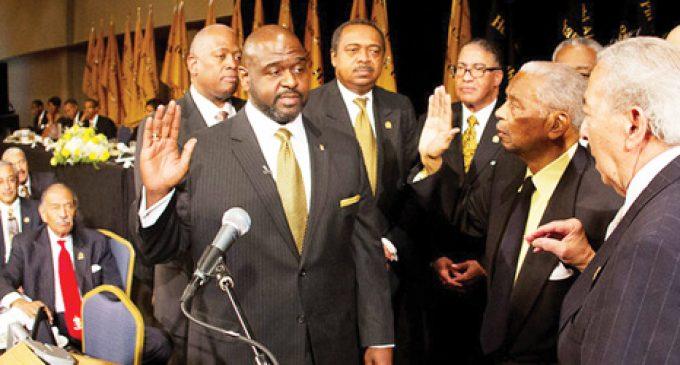 New Alpha general president sworn in