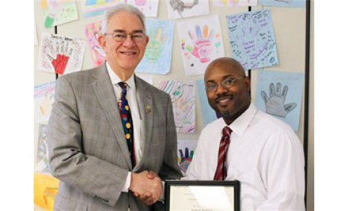 Anderson named Schools' top Classified Employee