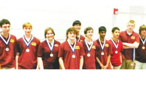 Atkins nearly wins state academic competition