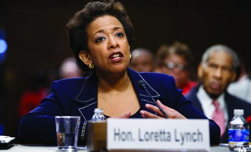 After 5-month delay, Loretta Lynch becomes 1st black female attorney general