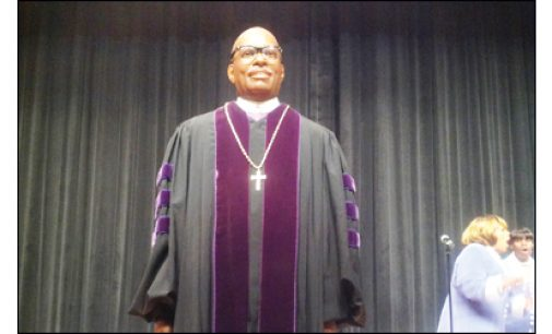 Wax Museum unveils likeness of Bishop Battle