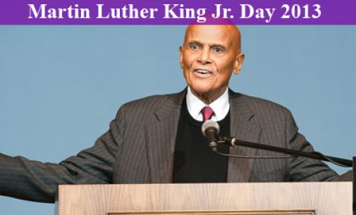 Belafonte to Students: Get Radical