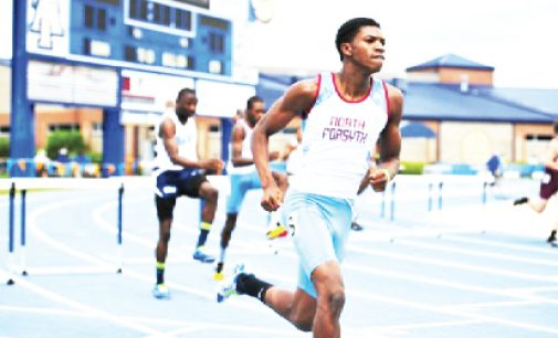 High school athletes shine