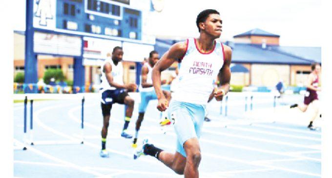 High school athletes shine