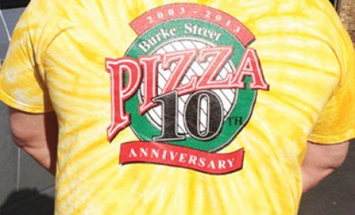 Popular pizzeria turns 10