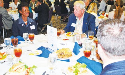 Chamber members hear from candidates