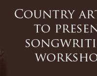 Country artists to present songwriting workshop