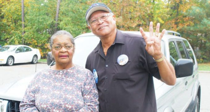 Early voters make their voices heard