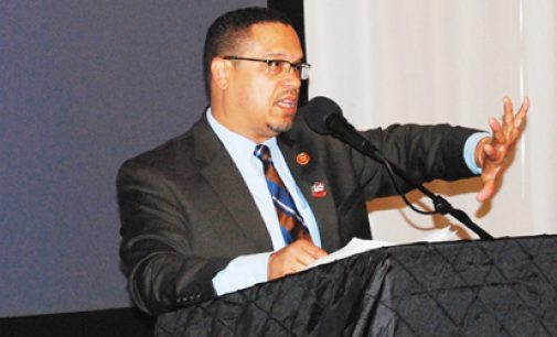 Ellison stirs local Democrats