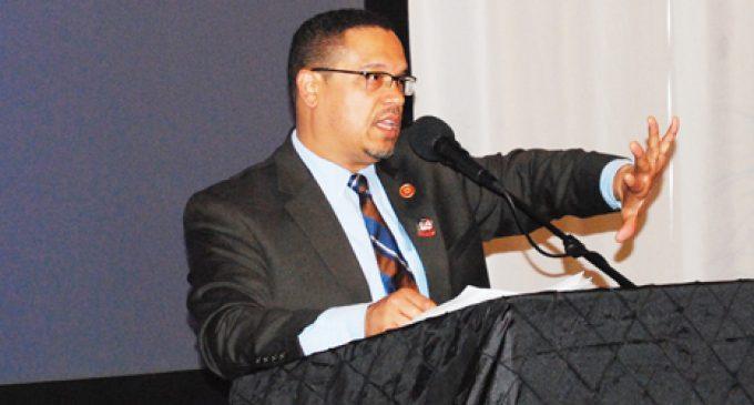 Ellison stirs local Democrats