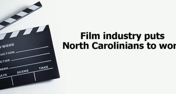 Film industry puts North Carolinians to work