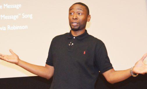 Hip-hop scholar drops knowledge at Wake