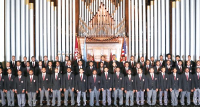 Morehouse Glee Club  coming to Bennett