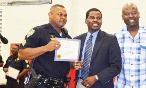 Happy Hill Salutes Cops