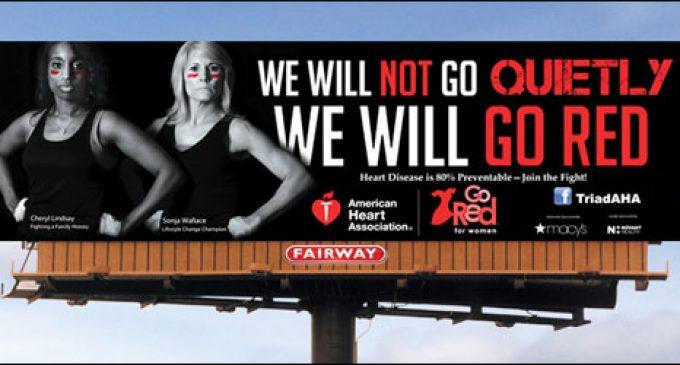 Heart heroines featured on billboard