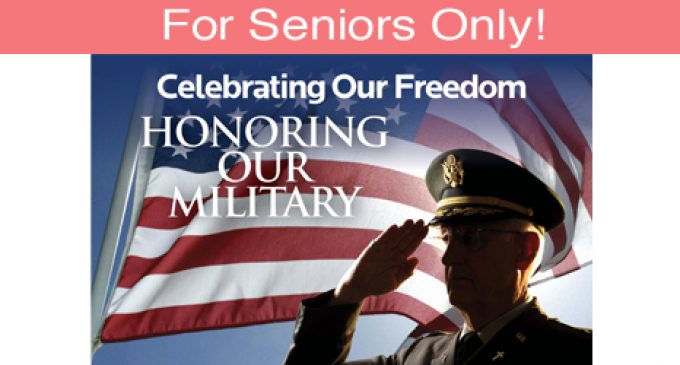 For Seniors Only: Remember the Sacrifices Made for Our Freedom