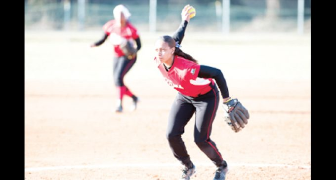 Lane earns pitching honor