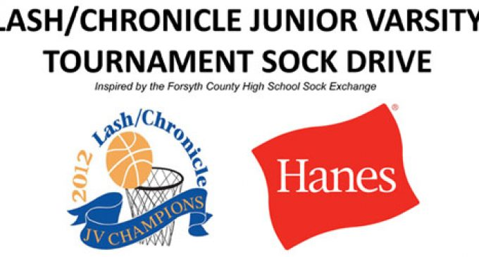 Sock Drive to be held at Lash/Chronicle JV Tournament