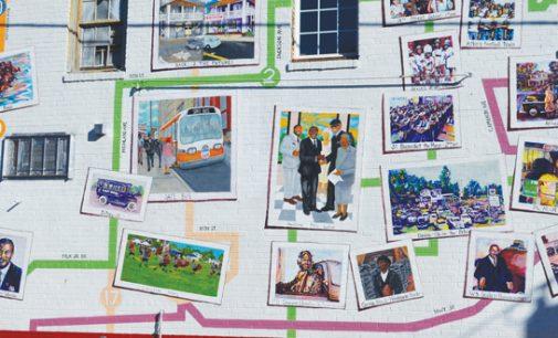 New mural brightens E. Ward, shows history