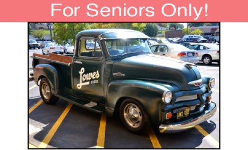 For Seniors Only: Lowes Foods Renovation Offers Great Grocery Shopping for Seniors