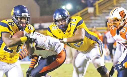 Mike Mayhew N.C. A&T's new king of rushing