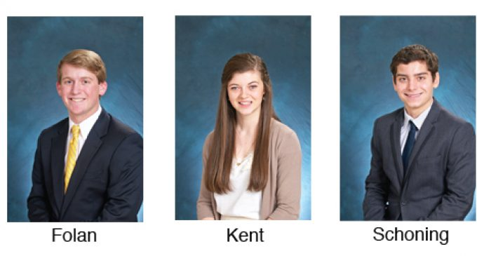 Local students named Morehead Scholars