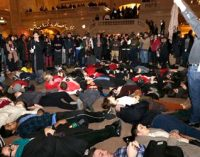 Protests erupt after decision in N.Y. chokehold death