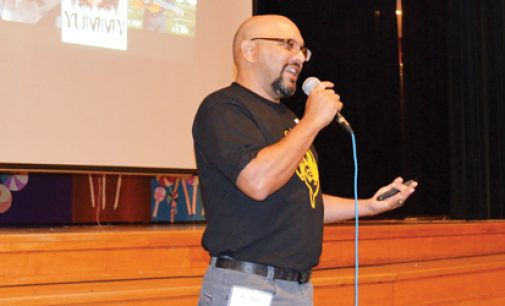 Popular author relates to students at Northwest