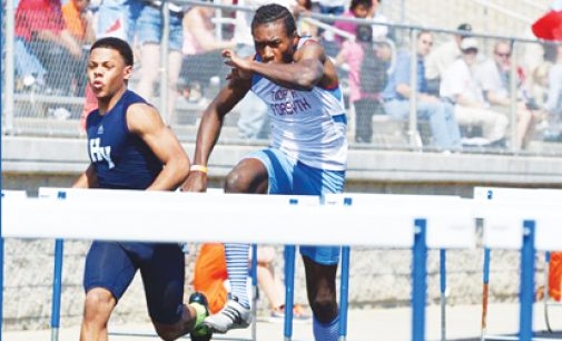 North owns the hurdles at meet