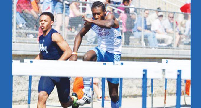 North owns the hurdles at meet