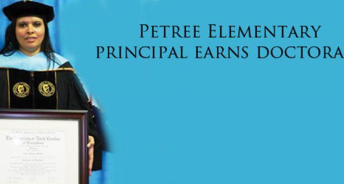Petree Elementary Principal Earns Doctorate