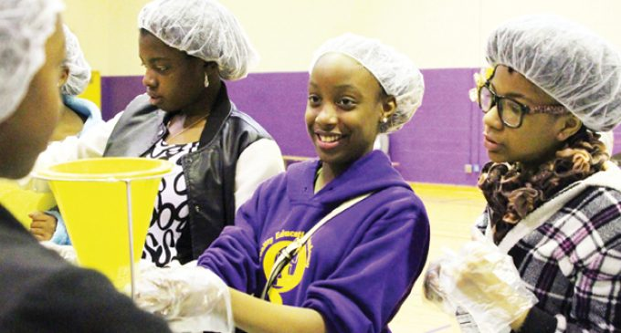 QEA helps on MLK Day, prepares art