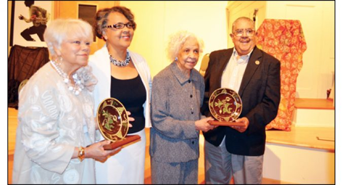 Three honored for upholding Rodney's legacy