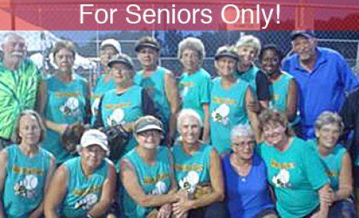 SENIOR LADIES (60+) SOFTBALL REPRESENT THE PIEDMONT AT SENIOR NATIONALS