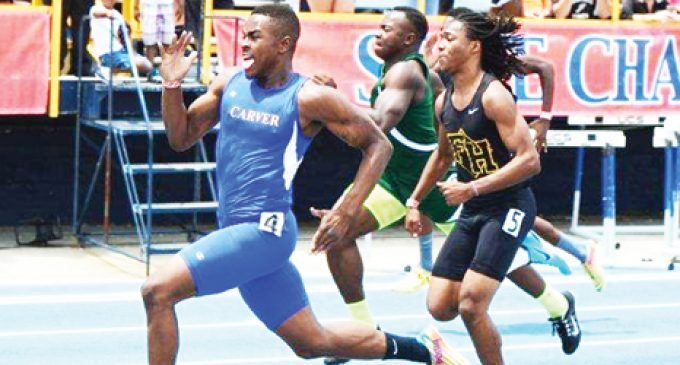 Golden day for Yellowjackets on the track