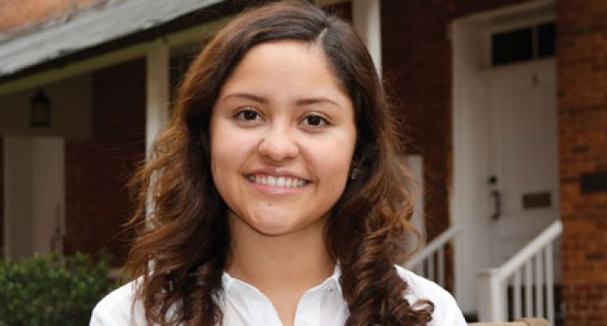 Local student becomes face of immigration campaign