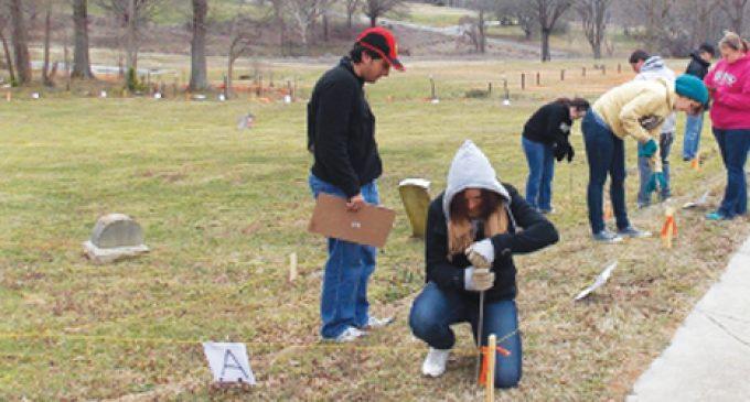 WFU students help cemetery reclamation effort
