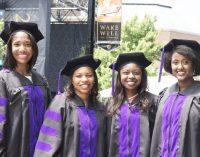 Black Wake Forest University women law school grads win awards