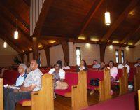 City reports no major tax increases, less crime at East Ward town hall meeting