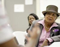 U.S. Rep. Adams visits homeless center for veterans in Winston-Salem