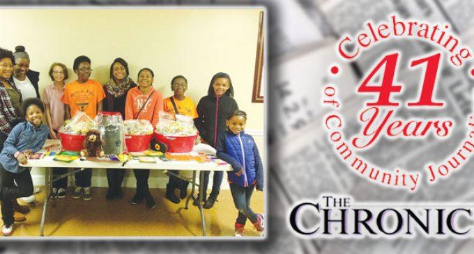 Gleaners spread Christmas cheer