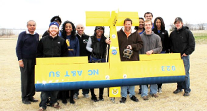 Aggie team soars at  aero competition