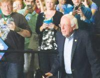 Bernie Sanders visits Greensboro, talks voters rights and minimum wage