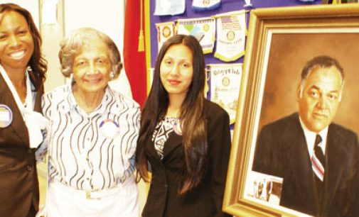 Single mom earns first Rotary Big House Gaines scholarship