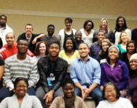 Black law  students  marking anniversaries