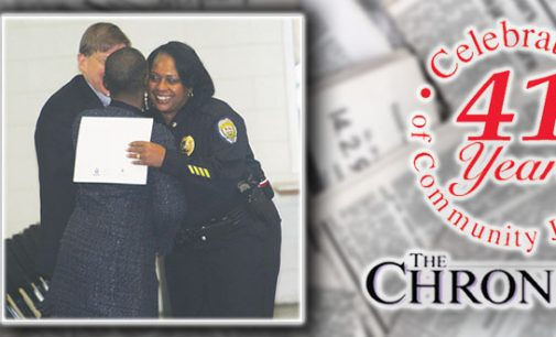 Thompson named assistant police chief