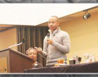 Student athletes encouraged to follow their dreams