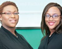 Duo receives high marks in business competition
